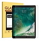 SPARIN New iPad Pro 12.9 (2018)/iPad Pro 12.9 Screen Protector, Tempered Glass/Multi-Touch Compatible/Bubble-Free/Anti-Scratch Screen Protector For 12.9-Inch iPad Pro (2018, 2018 Release)