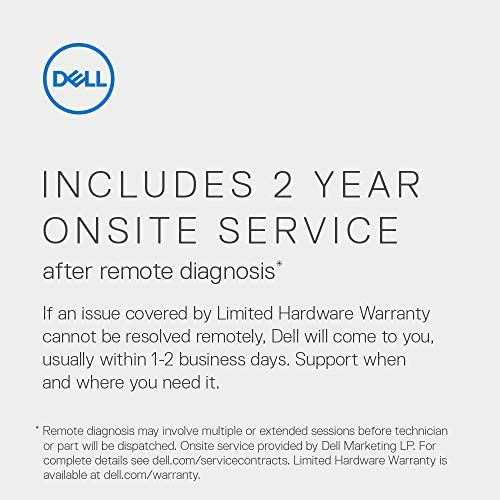 Dell Inspiron 7700 AIO Desktop, 27-inch FHD Infinity Touch All in One - Intel Core i7-1165G7, 12GB 2666MHz DDR4 RAM, 1TB HDD + 256GB SSD, Iris XE Graphics, Windows 10 Home - Silver (Latest Model)