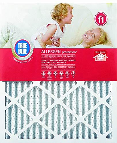 True Blue Allergen Protection 16x25x1 Air Filter, MERV 11, 4-Pack