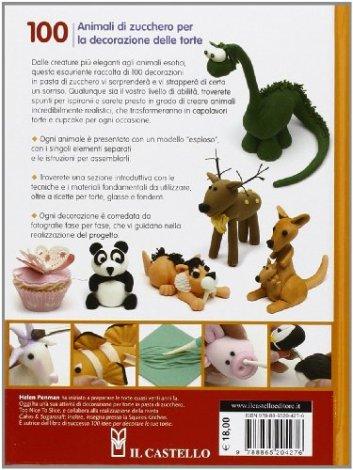 100 animali di zucchero per la decorazione delle torte