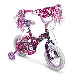 Huffy Bicycle Company Magic Mirror Princess Bike for Kids, Purple, 12 inch
