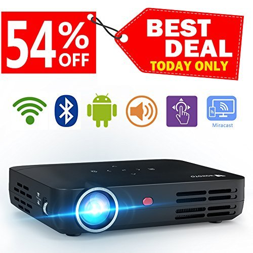 WOWOTO H8 Video Projector DLP LED Full...