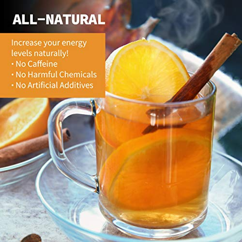 Total Tea Caffeine Free Detox Tea - All Natural - Slimming Herbal Tea for Gentle Cleansing - 25 Tea Bags 5