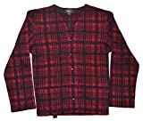 Product review for Polo Ralph Lauren RRL Mens Vintage Buffalo Plaid Wool Sweater Vest Red Black Large