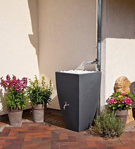 eckige regentonne mit ablage 200 liter. Black Bedroom Furniture Sets. Home Design Ideas