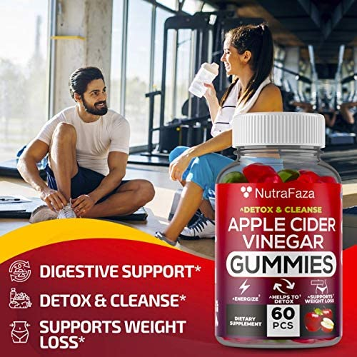 (2 Pack) Apple Cider Vinegar Gummies with Mother for Immunе Support - Vegan - Detox, Cleanse Support - Bloating Relief - Gummy Alternative to Apple Cider Vinegar Capsules, Pіlls, Made in USA 3