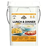 Augason Farms Lunch & Dinner Emergency Food Supply 11 lbs 11.2 oz 4 Gallon Pail