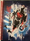 "DC Comics Superman Man of Steel Spiral Notebook ~ Hero in Flight (8"" x 10.5""; 70 Sheets, 140 Pages)"