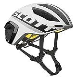 Scott Cadence PLUS Bike Helmet - White/Black Medium