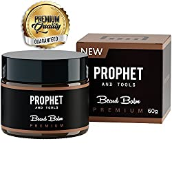 PREMIUM Beard Balm Butter and Wax Formula For Men Grooming! Adds Mild Styling & Hold, Softens Beards & Mustache, Gives Shine and Promotes Fuller Thicker Beard Oil Hair Growth! Prophet and Tools  Image 1