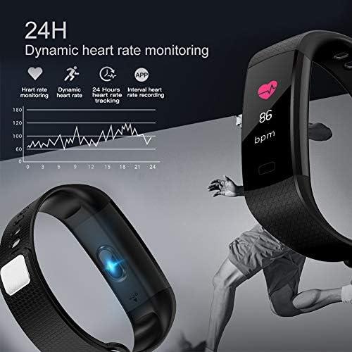 51U0Ywxzz4L. AC  - Awopee Smartwatch Pulsera Inteligente,Pulsera Inteligente Smartband Bluetooth,con Podómetro, Contador de Calorías y Kilómetros, Notificaciones de Mensajería y Llamadas, Monitor de Ritmo Cardiaco, A Prueba de Agua y Polvo, Compatible con Android y iOS #Amazon