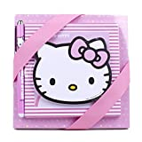 Hallmark Hello Kitty Notepad Set (3 Notepads, 1 Pen)