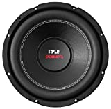10' Car Audio Speaker Subwoofer - 1000 Watt High Power Bass Surround Sound Stereo Subwoofer Speaker System - Non Press Paper Cone, 90 dB, 4 Ohm, 50 oz Magnet, 2 Inch 4 Layer Voice Coil - Pyle PLPW10D