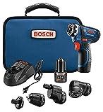 Bosch Power Tools Combo Kit - GSR12V-140FCB22 - 12V Flexiclick 5-In-1 Drill Set – One Tool Multiple Jobs