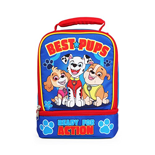 Nickelodeon Paw Patrol Best Pups Dual Compartment Blue Lunch Kit