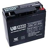 Universal Power Group 12V 22Ah Sealed Lead Acid Battery for Die Hard Portable Jump Starter 1150