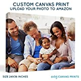 BuildASign Your Photo on Custom Personalized Canvas Prints (24x36) 0.75' Wrap- Great Gift Idea by Easy Canvas Prints