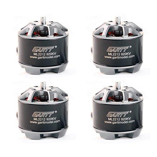 GARTT 4pcs ML 2212 920KV Brushless Motor 2-4S for DJI Phantom, F330, F450,  F500, S550, X525, walkera QR X350 Premium, RC Quadcopter Hexacopter