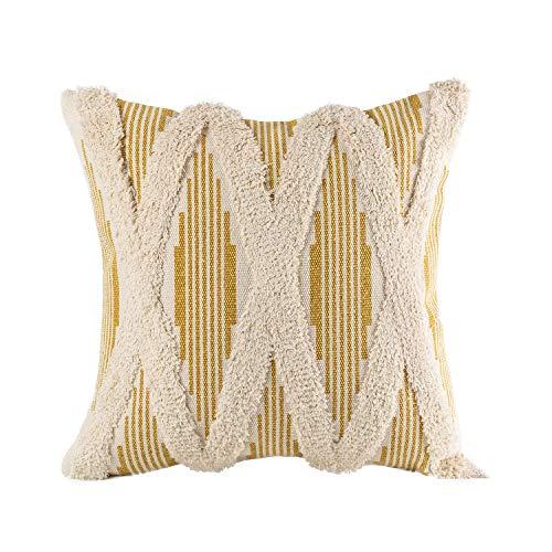 boho tufted pillow