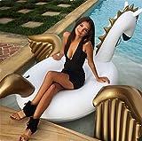 Pericross Pegasus Giant Inflatable Pool Float Toy Swimming Summer Unicorn Kids