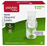 Playtex Baby Nurser Drop-Ins Baby Bottle Disposable Liners, Closer to Breastfeeding, 4 Ounce, 150 Count