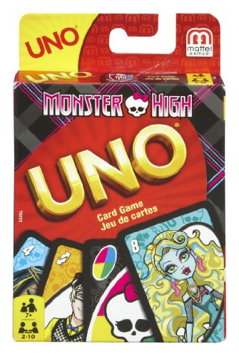 Mattel Games Monster High Uno Card Game