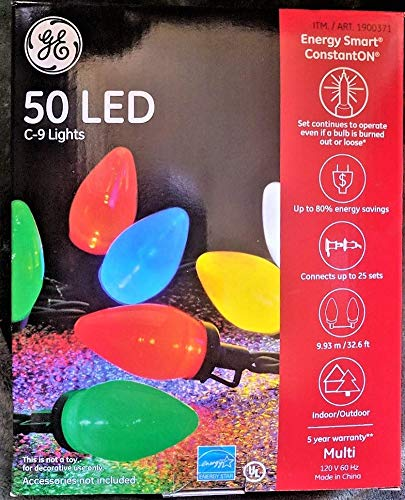 50 LED C-9 Lights