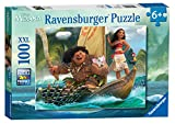 Ravensburger Disney Moana One Ocean One Heart 100 Piece Jigsaw Puzzle for Kids - Every Piece is Unique, Pieces Fit Together Perfectly