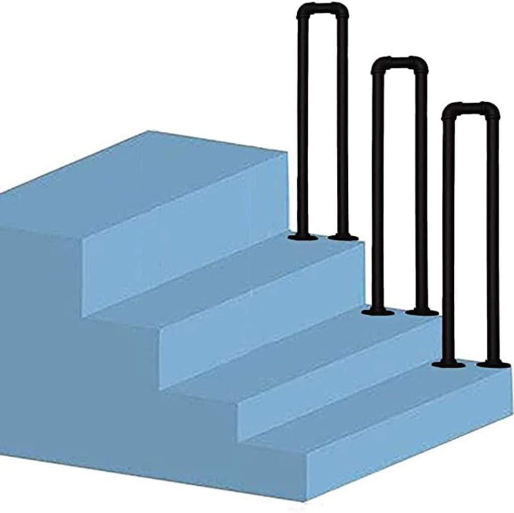 Amazon Com Escal Non Slip Railing,Rustic Blackwrought Iron | Galvanized Pipe Stair Railing | Garden | Industrial | Metal | Used Deck Railing | Interior