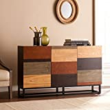 Product review for Southern Enterprises Harrison Console Credenza, Multi Tonal Finish with Black Body