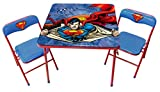 O'Kids Superman Metal Activity Table and Chair Set
