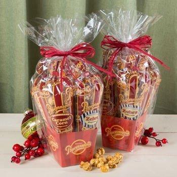 Popcornopolis Mini 5-cone Variety Popcorn Gift Basket ...