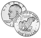 1977 D Eisenhower Dollar Brilliant Uncirculated