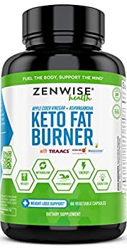 ZENWISE HEALTH KETO FAT BURNER is a ketogenic diet weight loss formula that features Paradoxine, a Grains of Paradise extract clinically proven to enhance adipose tissue conversion and thermogenesis to decrease body fat. This formula also contains KS...