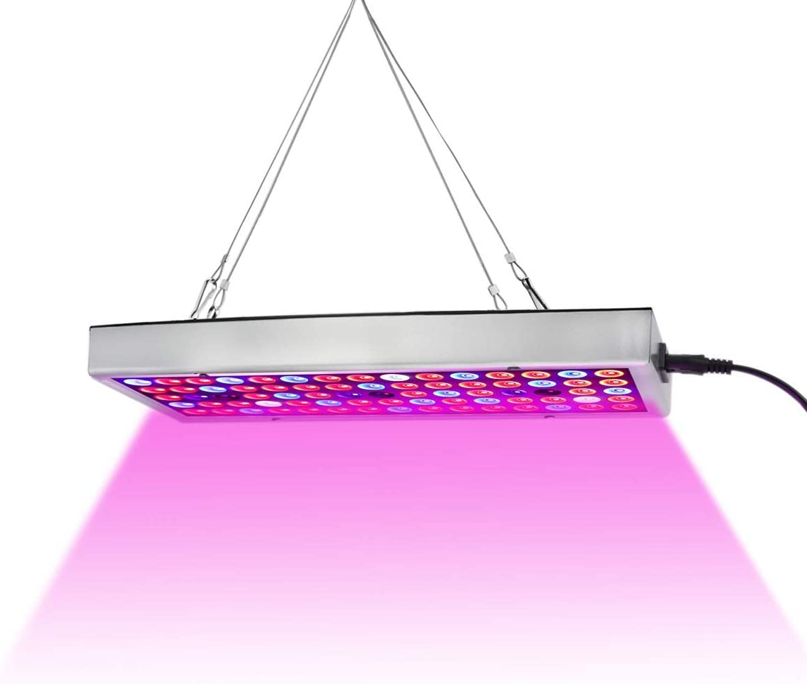 Amazon Com Led Grow Lights Full Spectrum Panel Grow Lamp With Ir Uv Led Plant Lights For Indoor Plants Micro Greens Clones Succulents Seedlings Garden Outdoor