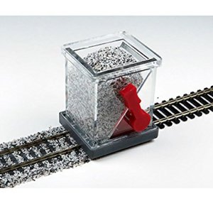 HO SCALE BALLAST SPREADER with SHUTOFF – HO Scale 51UR UaWg9L