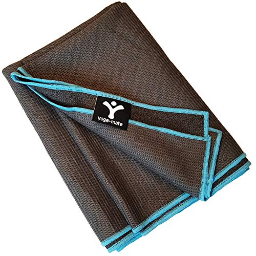 Sticky Grip Yoga Towel by Yoga Mate -...