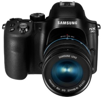 Samsung-NX30-203MP-CMOS-Smart-WiFi-NFC-Mirrorless-Digital-Camera-with-18-55mm-Lens-and-3-AMOLED-Touch-Screen-and-EVF-Black
