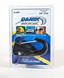 Danik-Hook – Easy to Use, Knotless Anchor System- Perfect for Boats, Wave Runners, Buoy's, RV's, Campers, Fishing, and All Outdoor Sports – Never Tie a Knott Again, 100's of Uses, Reliable and Non Scratching Holding up to 500 Pounds with Quick Release - Made From Glass Filled Thermo Plastic with a Rock Solid One-year Warranty.