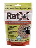 EcoClear Products 620100-6D RatX All-Natural Non-Toxic Humane Rat and Mouse Killer Pellets, 8 oz. Bag