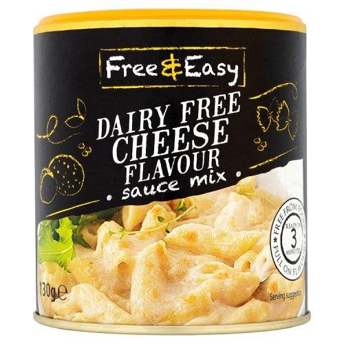 Free & Easy Dairy Free Cheese Sauce Mix Glutenfree Vegan 4.6oz
