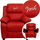 Product review for Kids Personalized Deluxe Recliner
