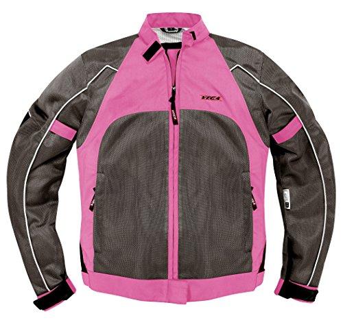 Vega Technical Gear Mercury Ladies Mesh Jacket (Pink, Small)