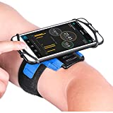 Newppon Sports Cellphone Arm Bands : with Key Pocket Holder & 180° Rotatable for Apple iPhone Xs Max XR X 8 7 6 6S Plus Samsung Galaxy S9+ S9 S8 S7 S6 Edge Note 8 Google Pixel LG G6,for Outdoor Gym