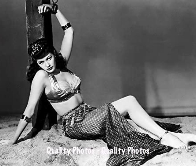 Amazon Com Sexy Yvonne De Carlo Chained Up  X Photo Print