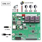 3 Axis GRBL 0.9J CNC Control Board for 1610/2418/3018 DIY Laser Engraving Machine USB Connection Avec Offline Controller Pour