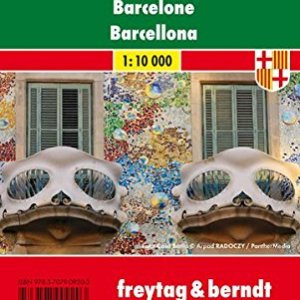Barcelona City Pocket Map 1:10K FB (English, Spanish, French, Italian and German Edition) 4
