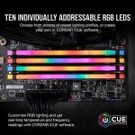 Corsair Vengeance RGB PRO 16GB (2x8GB) DDR4 3200MHz C16 LED Desktop Memory – Black