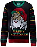 Product review for Ugly Christmas Sweater Men's Light-up-Happy Holidaze Sweater