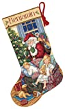 Dimensions Needlecrafts 8740  Gold Counted Cross Stitch Sweet Dreams Stocking